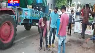 સુરેન્દ્રનગરમાં ભીનો અને સૂકો કચરાની ડસ્ટબીન બનાવવાની કામગરી શરુ