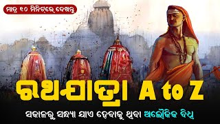 An Incredible Rituals To Be Held From Morning To Evening During Lord Jagannath's Rath Yatra 2020