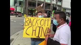 India-China Standoff: Indians in Canada protest outside Chinese consulate in Vancouver