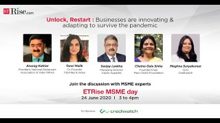 ETRise MSME Day 2020: How businesses are innovating to survive the pandemic