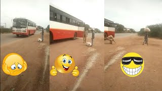 Try to stop laughing - boy and bus conductor very funny video | Video of the year 2020