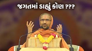 જગતમાં ડાહ્યું કોણ ??? || પૂ સદ્ સ્વામી શ્રી નિત્યસ્વરૂપદાસજી
