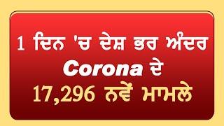Corona Update:17,296 नए मामले, कुल 4 लाख 90 हज़ार से ज्यादा केस,2 लाख 85 हज़ार से ज्यादा हुए ठीक