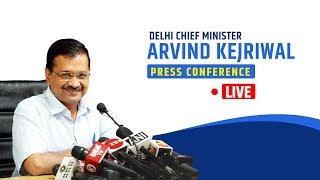 Delhi CM Arvind Kejriwal briefs media on an important issue | LIVE