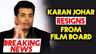 Karan Johar Submits His Resignation To MAMI Film Board Amid Nepotism Controversy