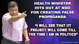 Guleli IIT:  Health Minister hits out at NGO for creating false propaganda