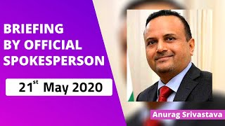 Briefing by Official spokesperson (21 May 2020)