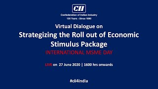 Virtual Dialogue on  Strategizing the Roll out of Economic Stimulus Package