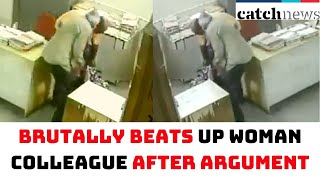 Nellore: Hotel Employee Brutally Beats Up Woman Colleague Over An Argument | Catch News