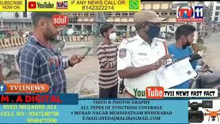 Goshamahal traffic police station ki taraf say aaj special drive chalayi gayi hay h Jin two wheeler