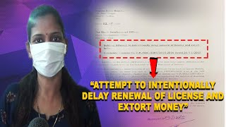 This women wants to become 'Atmanirbhar' but p'yat intentionally delaying renewal of license ?