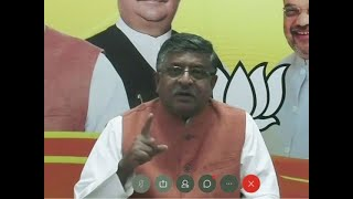 Country should stand united instead of questioning each other: RS Prasad on India-China standoff