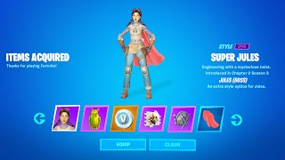 Fortnite All Boss Jules Challenge Reward