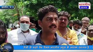 मुस्लिमसमाज सदर मंसूर पठान को टिटु नामक युवक ने गोली मारकर हत्या कर दी और खुद को किया पुलिस के हवाले