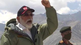 PM Modi's Latest Speech  during visit to Leh Ladakh | JAI HIND