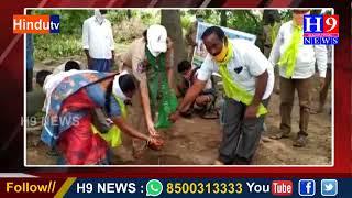సైదాపూర్  మండలంలో ఆరో విడత హరితహారం