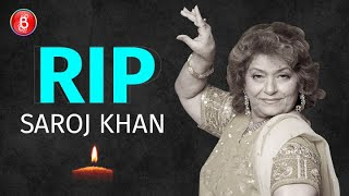Bollywood's Ace Choreographer Saroj Khan Dies At The Age Of 71 Due To Cardiac Arrest