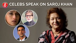 Saroj Khan's Death Mourned By Amitabh Bachchan, Madhuri Dixit, Akshay Kumar & Other B-Townies
