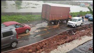 Not Roads, but only Potholes & Craters on Mapusa-Porvorim Highway