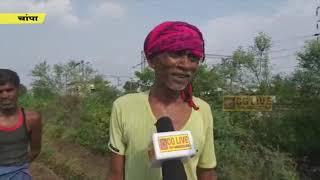 रेलवे ठेकेदार द्वारा मजदूरों के मजदूरी में की जा रही कांटामारी cglivenews