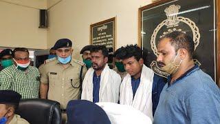 रायगढ़ में हुए लूट के आरोपी पकड़ाये cglivenews