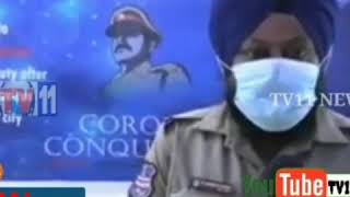 Hyderabad city police cop sardar Gurmith singh on covid 19