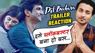 Dil Bechara Trailer | Reaction | Review | Sushant Singh Rajput, Sanjana Sanghi