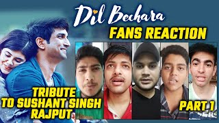 Dil Bechara Trailer | Public Reaction | Sushant Singh Rajput | Part 1
