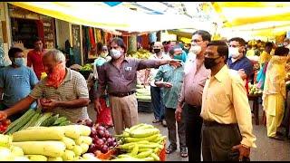 Curchorem market vendors decide to temporarily shut market for out of state vendors