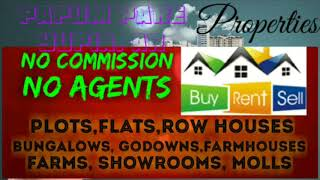 12.    PROPERTIES ☆ Sell •Buy •Rent ☆ Flats~Plots~Bungalows~Row Houses~Shop $Real estate ☆