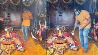 ಅಣ್ಣ ಚಿರುಗೆ ಒಂದು ತಿಂಗಳ ಪೂಜೆ ಸಲ್ಲಿಸಿ ಭಾವುಕರಾದ ದ್ರುವ ಸರ್ಜಾ | Chiranjeevi sarja | Dhruva Sarja