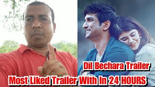 Dil Bechara Becomes Most Liked Trailer Of Bollywood With In 24 HOURS, Fans Tribute To Sushant Singh