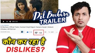Dil Bechara Trailer | Why So Many DISLIKES On The Trailer? | Sushant Singh Rajput