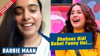 Teri Gali Singer Barbie Maan Reaction On Working With Shehnaz Gill | Exclusive Interview