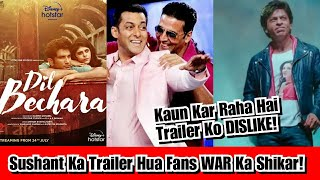 Who Is Disliking Dil Bechara Trailer And Why? Sushant Ki Aakhri Film Hui Fan War Ka Shikaar