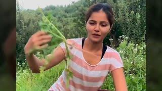 Actress Rubina Dilaik Doing Organic Farming
