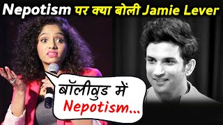 Jamie Lever REACTS To Nepotism In Bollywood; Here's What She Said
