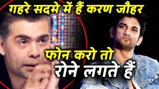 Karan Johar Crying, Asking What He's Done To Deserve Hatred Over Sushant, Reveals Friend