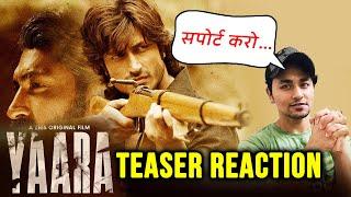 Yaara Teaser Reaction   Review   Vidyut Jammwal   Shruti Haasan   A ZEE5 Original Film