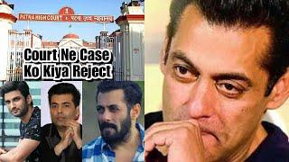 Sushant Singh Rajput Update: Court Case Dismissed Against Salman Khan, Karan Johar, Ekta Kapoor Etc