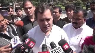 राहुल गांधी ने 17 मार्च को ही कोरोना के आने वाले खतरे से सरकार को आगाह किया था लेकिन सरकार सोती रही