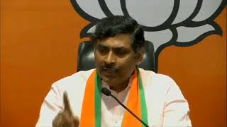 Press Conference by BJP National General Secretary, Shri P. Muralidhar Rao
