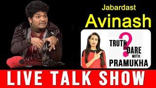 Jabardasth Mukku Avinash Interview   Truth or Dare with Pramukha    Top Telugu TV
