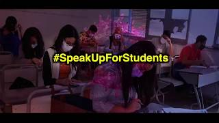 Speak Up For Students: Join us tomorrow 10am onwards to raise their voice