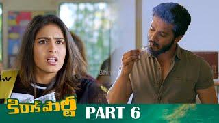 Kirrak Party Full Movie Part 6 - Latest Telugu Movies - Nikhil, Samyuktha Hegde, Simran Pareenja