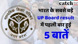 भारत के सबसे बड़े UP Board result में पहली बार हुई 5 बातें | Catch Hindi