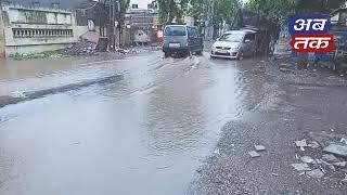 રાજકોટ સહિત મેટોડા જીઆઇડિસી અને આસપાસના ગ્રામ્ય વિસ્તારોમાં ધોધમાર વરસાદ | ABTAK MEDIA