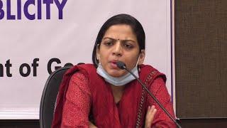 ????LIVE: Health Secretary Nila Mohanan on COVID status in Goa
