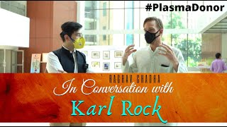 MLA #RaghavChadha in Conversation with #PlasmaDonor @Karl Rock