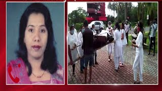 #PratimaCoutinho | Wife of late Vishnu Wagh i says don't create communal disharmony